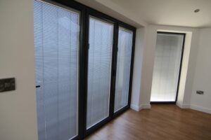 Our innovative range of between the glass blinds can enhance any window or bifolding door.