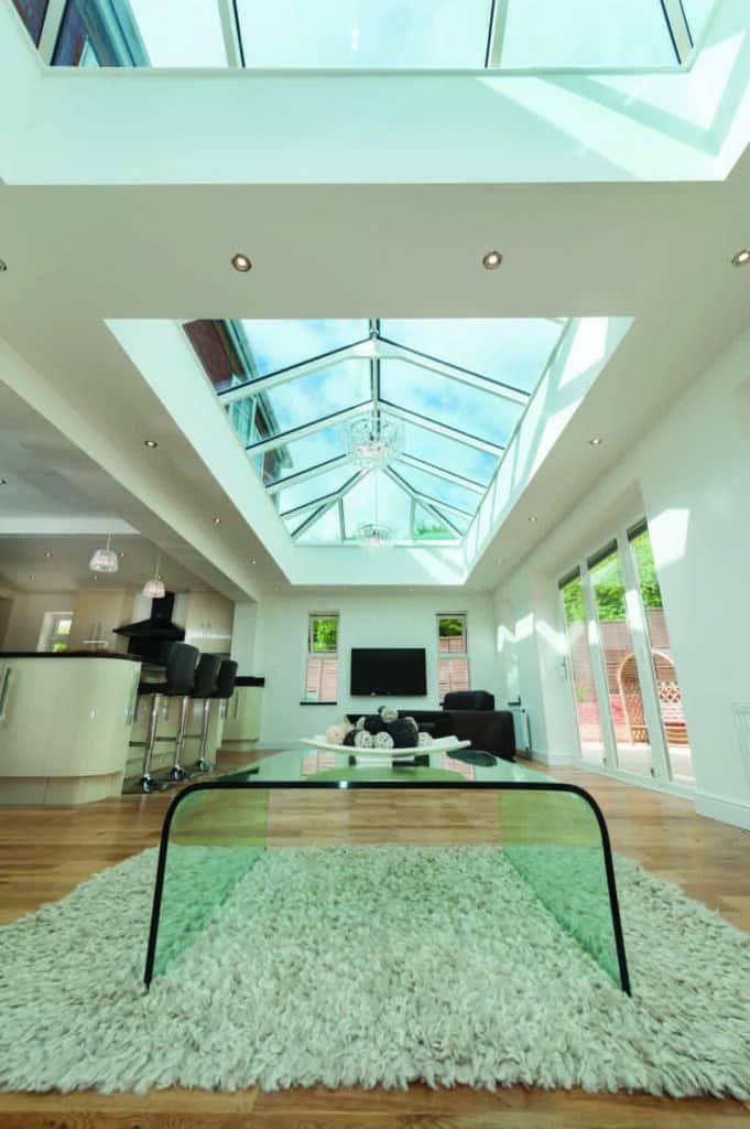 Atlas skyroom in a new house