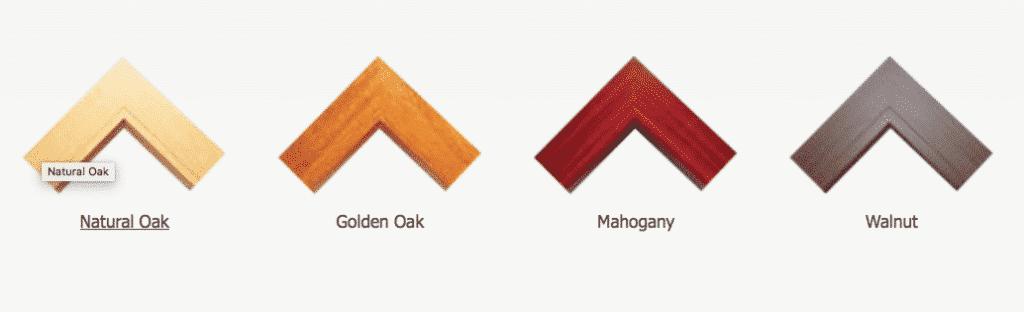 Woodgrain colours