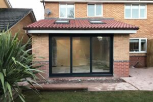 Reynaers CP130 sliding patio doors