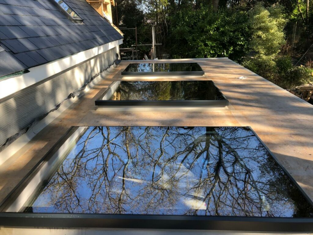 rooflights with integral blinds
