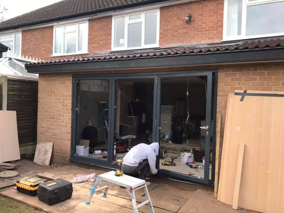 fitting origin bifolding doors