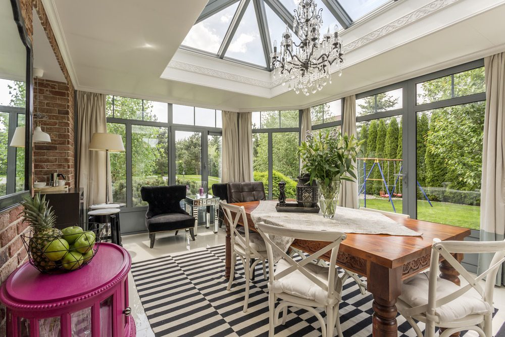 aluminium orangeries for homeowners