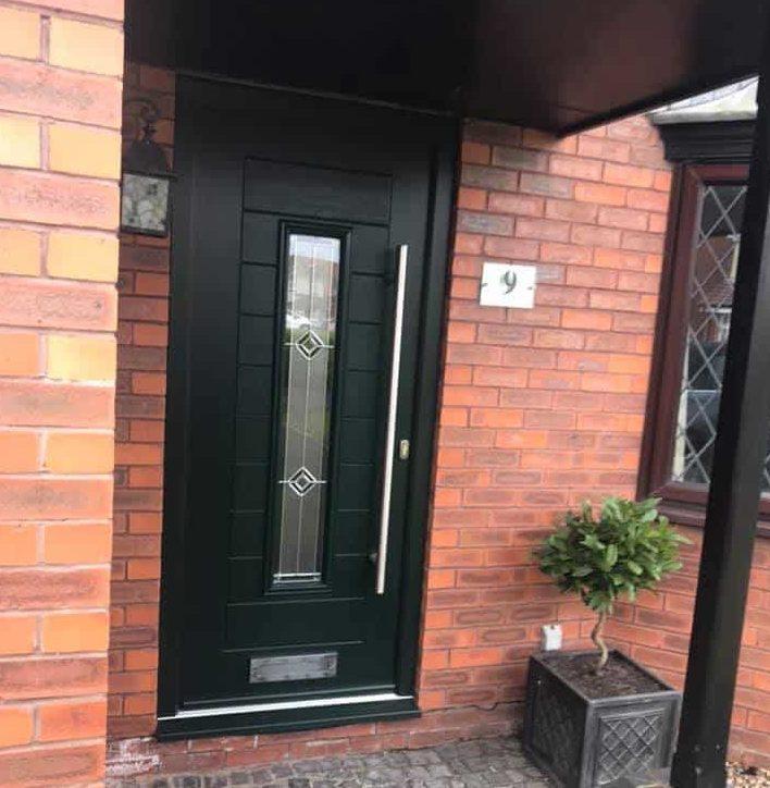 Green endurance composite door