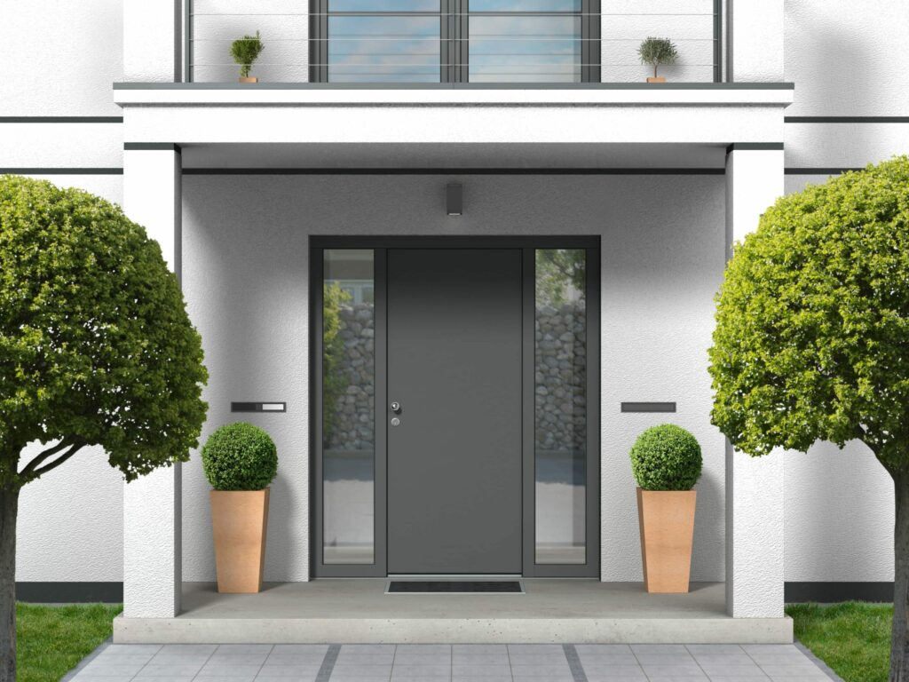 entrance doors for new houses
