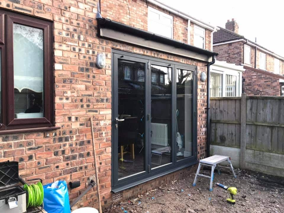 Origin doors replace PVCu rehau doors