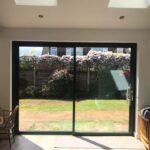 Open corner bifolding doors in Lancaster