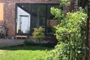 Origin OB49 bifolding doors in Liverpool