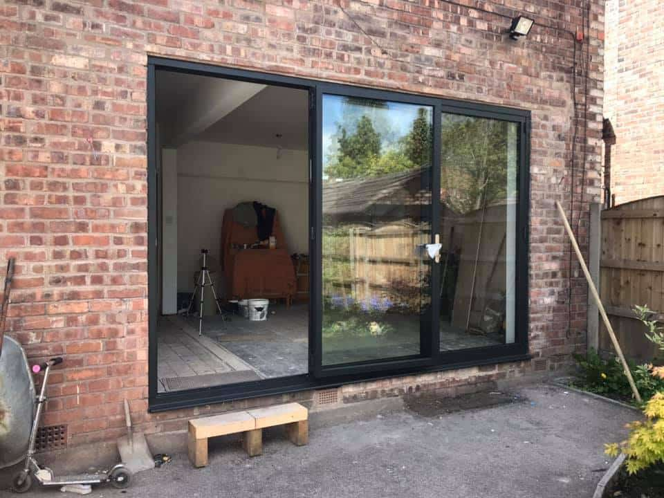 Origin OB49 bifolding doors in Liverpool