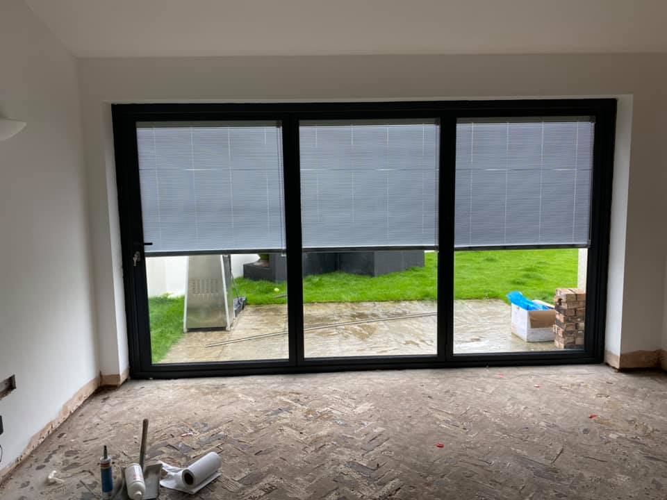 Origin bifolding doors in Wrexham