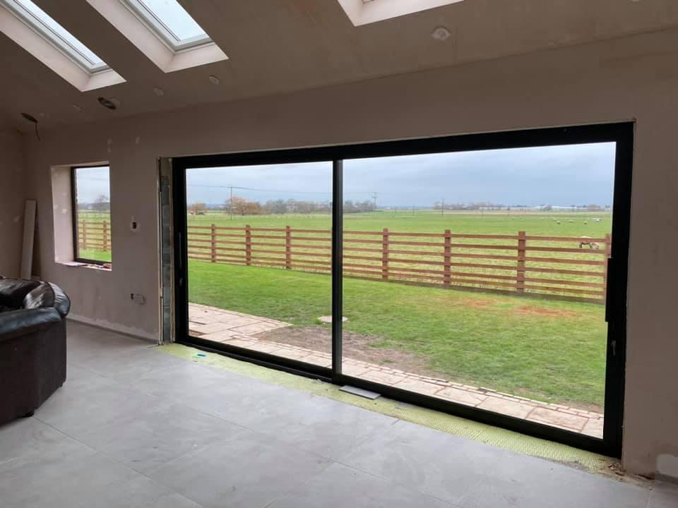 slimline sliding doors in liverpool
