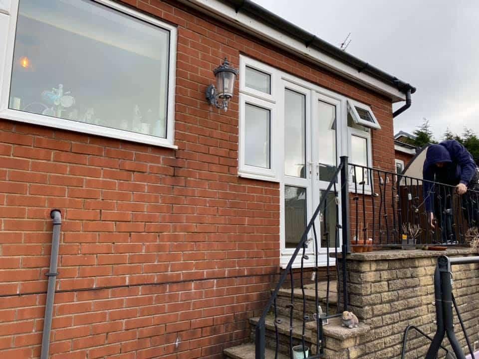 Origin bifolding doors in Bolton